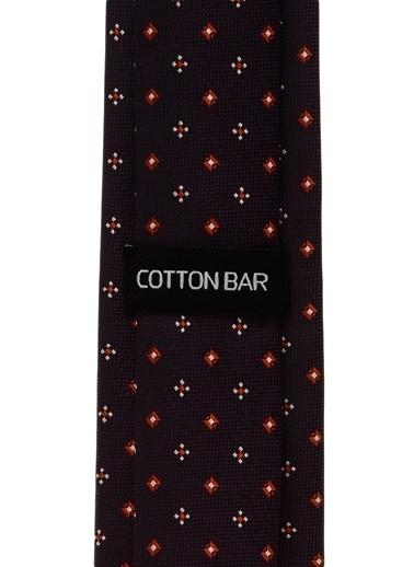 Cotton Bar Kravat Bordo